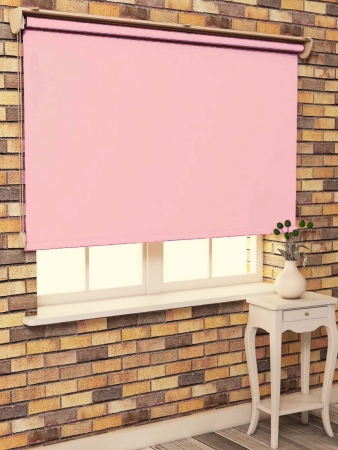 Stor Perde Pembe Polyester